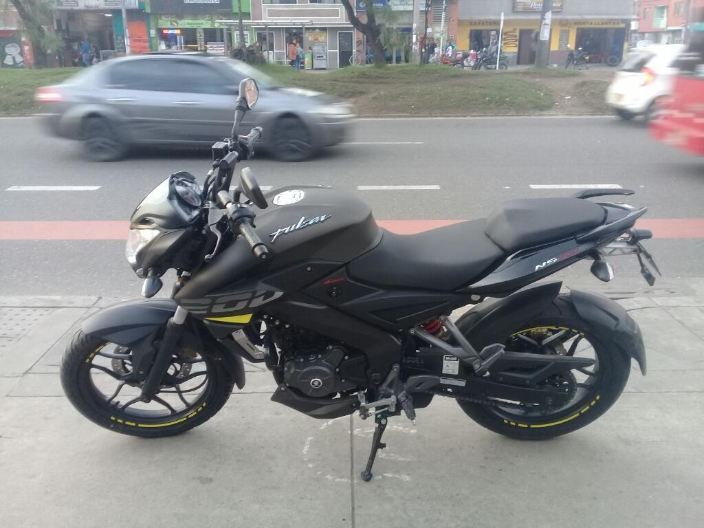 Pulsar Ns 200 Modelo 2019 0 Kms Nueva