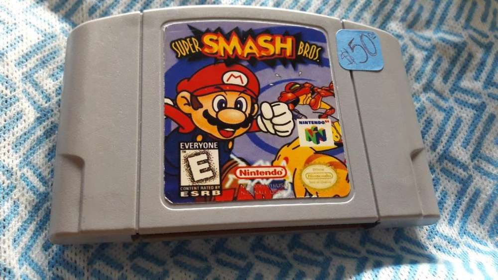 Super Smash Bros 64