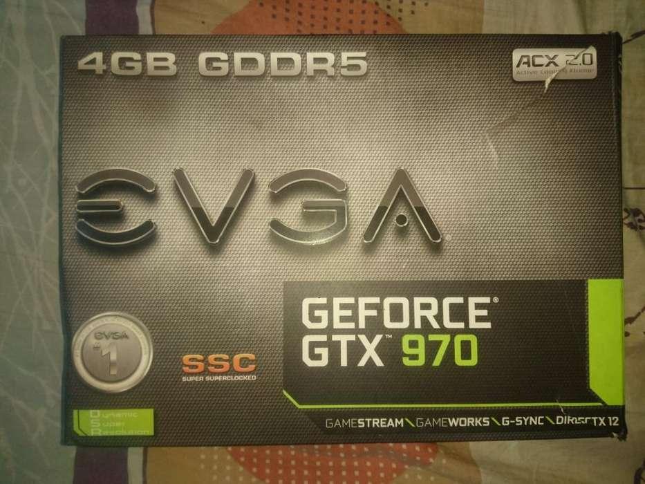 Tarjeta de Video Gamer Gtx 970 de 4gb