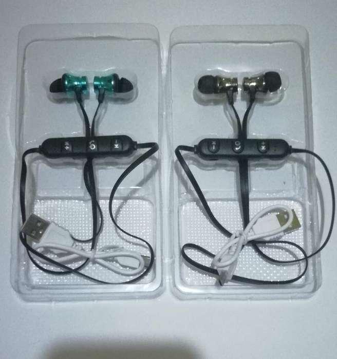 Audífonos Bluetooth Magneticos Nuevos