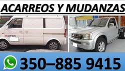 ACARREOS,MUDANZAS y TRASTEOS PEQUEÑOS en BOGOTA y Municipios....