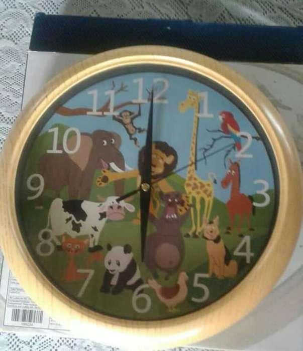 Reloj de Animalitos (con Sonido)