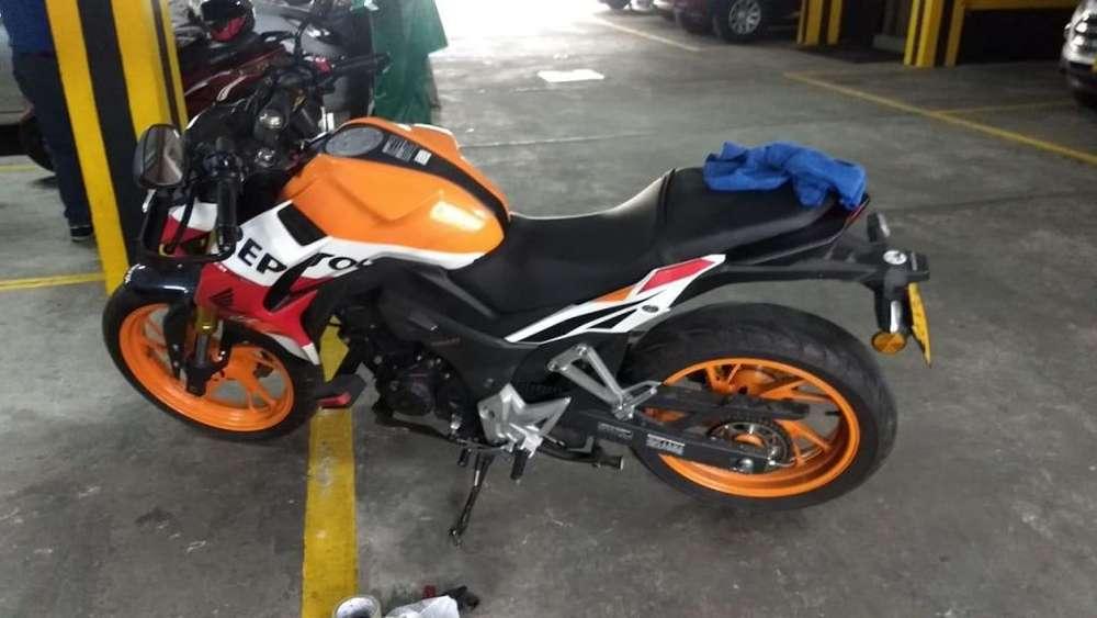 vendo moto CB 190 R Repsol