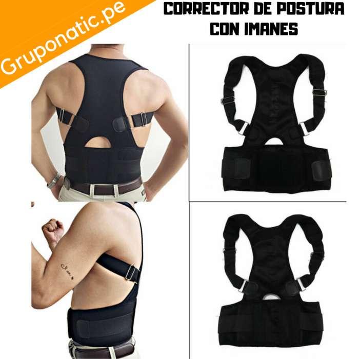 Faja Corrector Postura Ajustable 10 Imanes Gruponatic San Miguel Surquillo Independencia La Molina Whatsapp 941439370