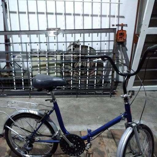 bici rodado 20 plegable