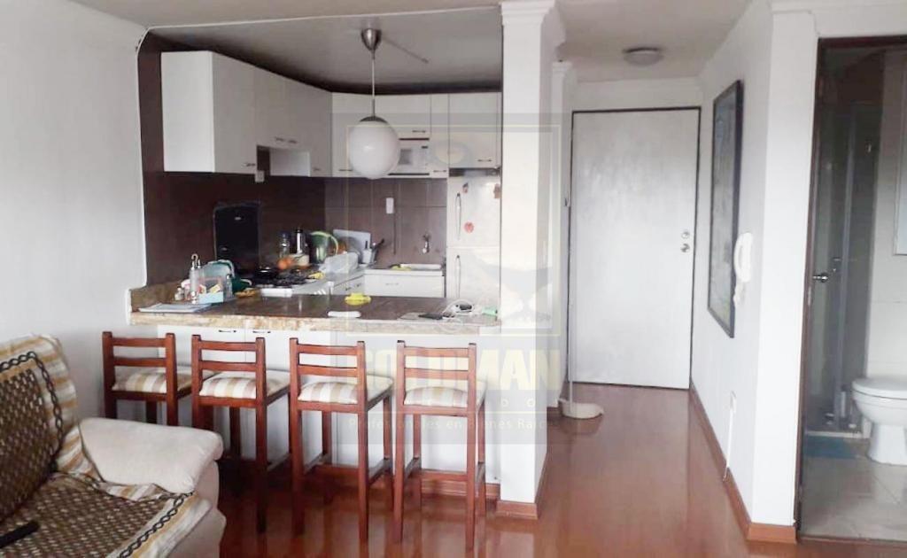 El Inca, departamento, 55 m2, amoblado, 2 habitaciones, 1 baño, 1 parqueadero