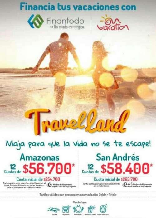 Viaja a San Andres Y Paga a Cuotas