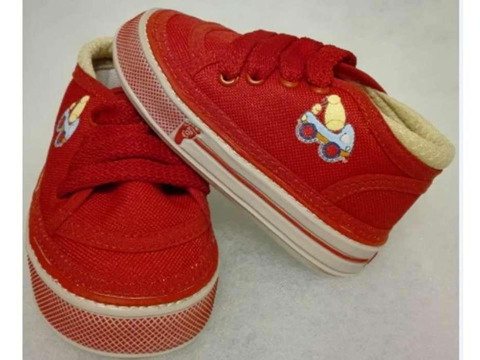 Zapatos para Bebés Caminadores Ref. 2008 Rojo