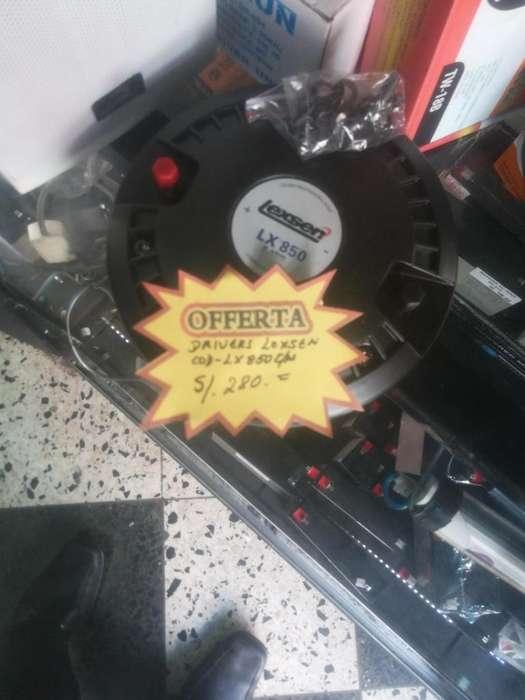 DRIVER LEXSEN LX850 2 Pulgadas
