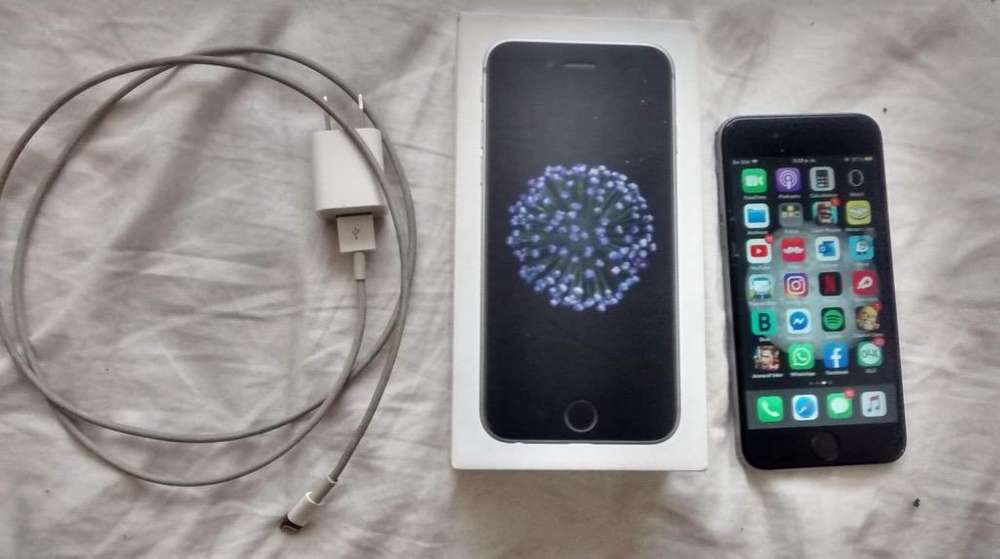 iPhone 6S Libre Caja Cargador Original