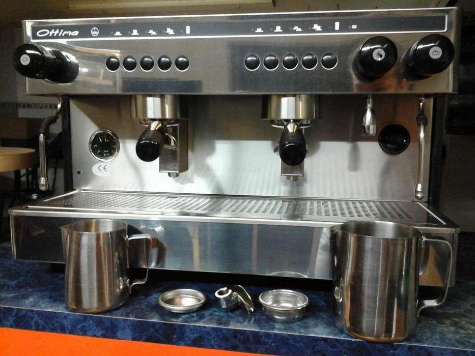 Máquina Capuchinera, Café Espresso De 2 Grupos Ottima Electró INF. 3206287710