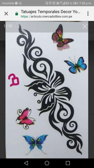 Oferta Tatuajes Temporales