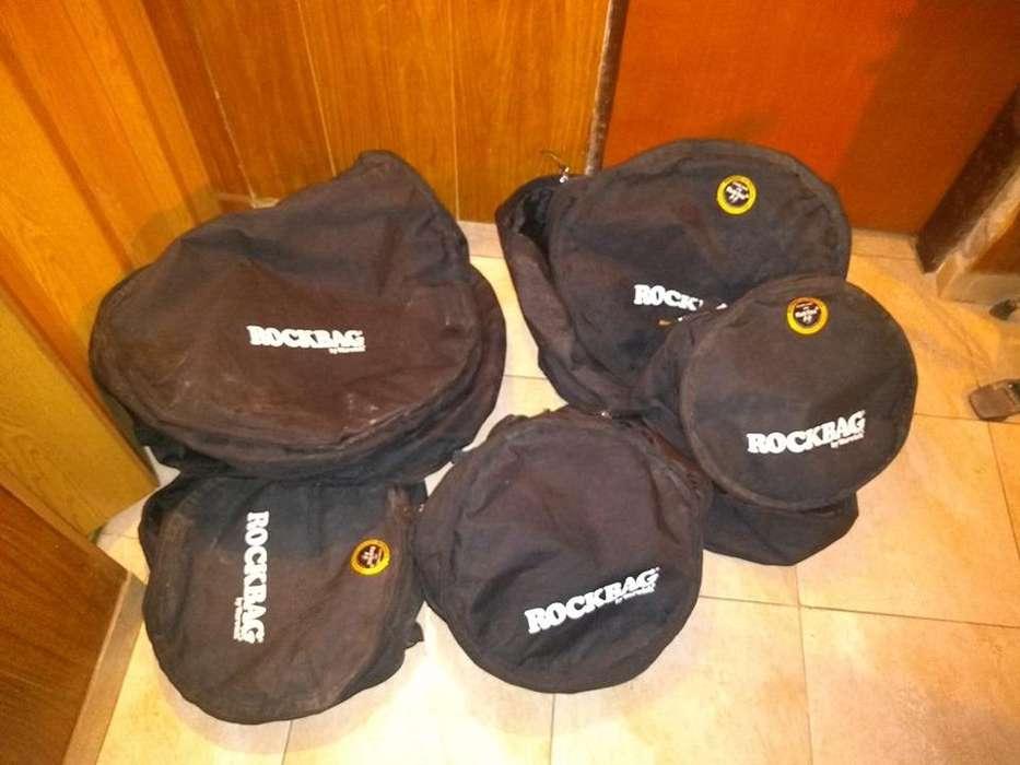 Set de fundas para bateria completo ROCKBAG by Warwick! acepto permuta