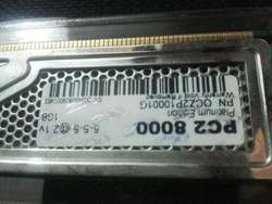 Memorias Ram Ddr2 1000mhz con Disipador