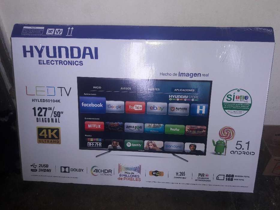Vendo Smart Tv 50 Pulgadas, Hyundai