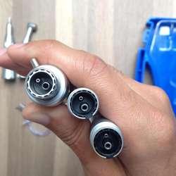 Piezas de mano odontologicas micro motor, pieza de alta contra angulo pieza de baja