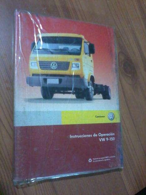 En Córdoba Ctal vendo Manual Propietario Camión VolskWagen VW 9150