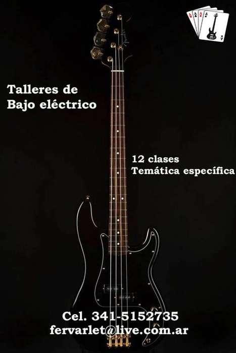 CLASES DE BAJO TALLERES DE TEMATICA ESPECIFICA