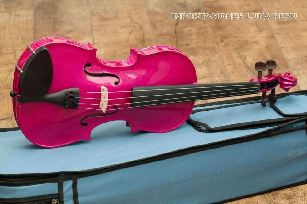 violin colores lila violeta morado rosado