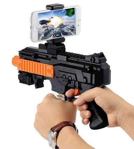 Pistola Bluetooth Ar Game Gun Para Celular