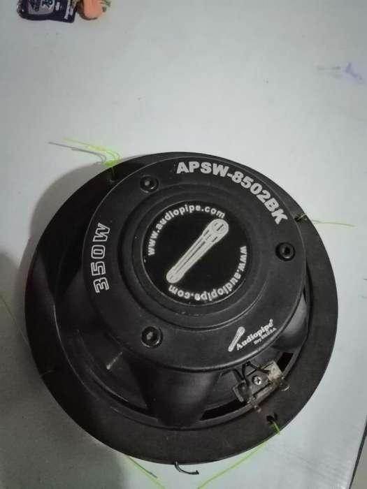 Parlante Marino Audio Pipe Apsw-8502bk 3