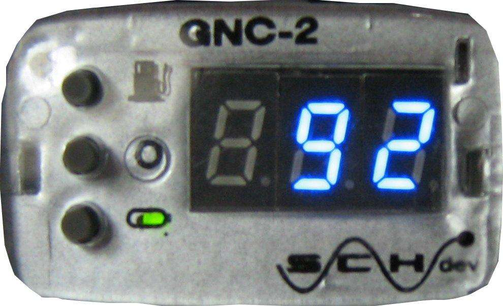 LLave de GNC digital, mide en bares homologada