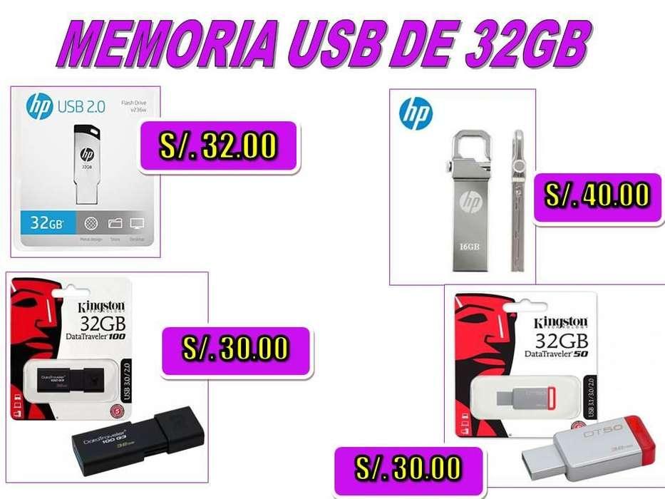 <strong>memoria</strong> USB DE 32 GB