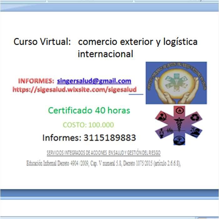 100.000 curso virtual comercio exterior y logística internacional