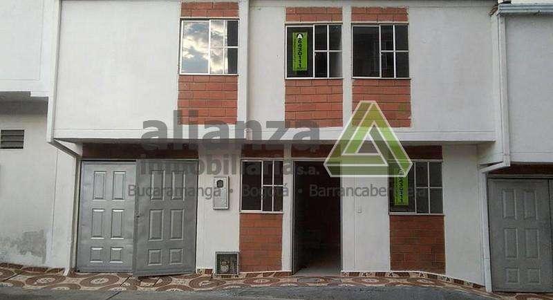Arriendo Casa Calle 35bis #18a -09 Casa 1 - Conjunto R Giron Alianza Inmobiliaria S.A.