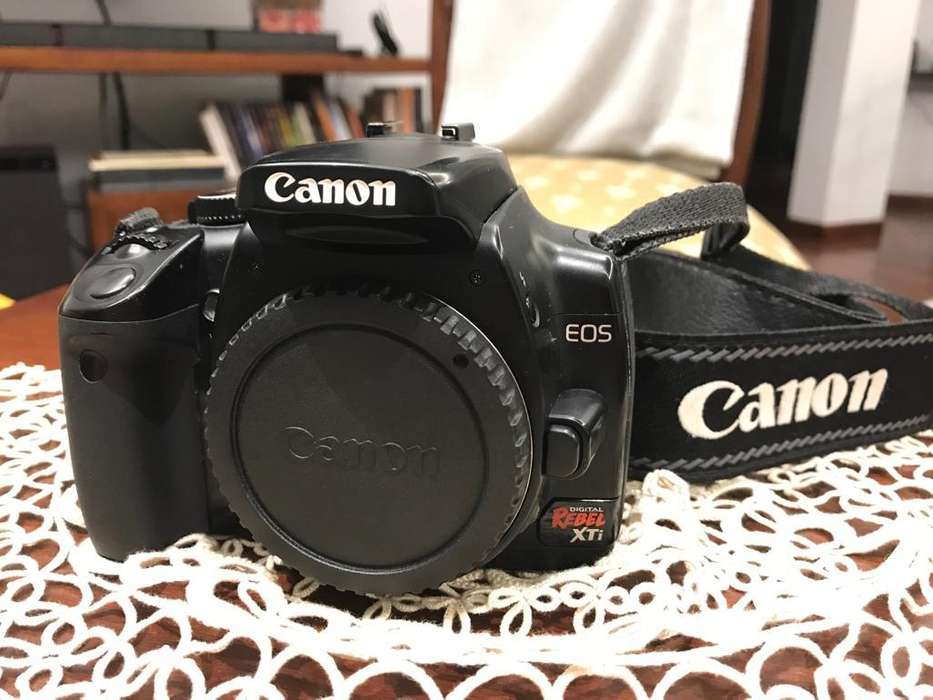 Canon Eos Rebel Xti 400d Lente