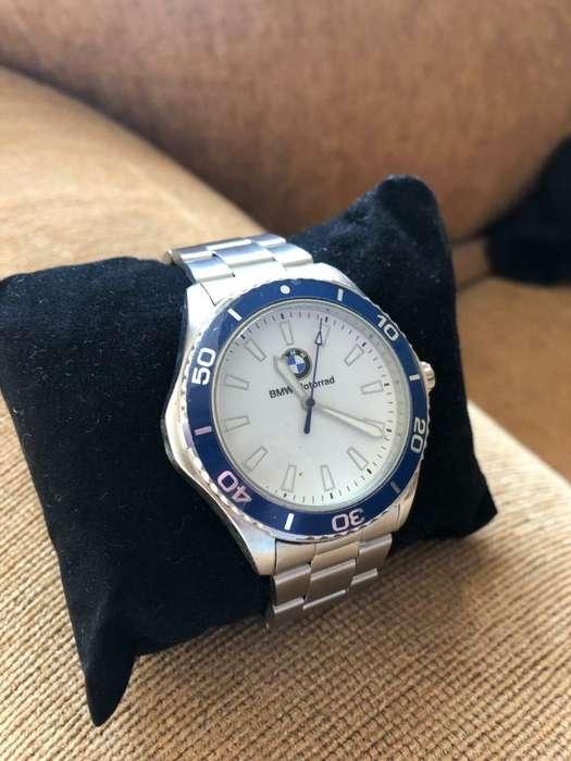 Reloj con Marca Bmw de Acero Inoxidable
