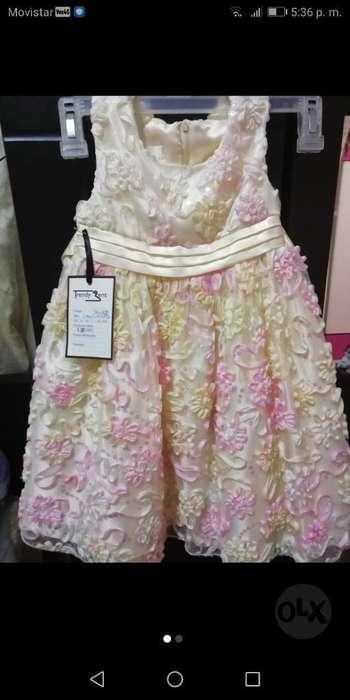 Vestido de Niña Talla 3_4