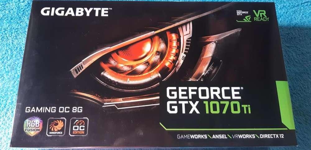 Tarjeta Video Gigabyte Gtx 1070 Ti