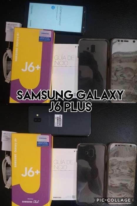 samsung galaxy j6 plus con caja y factura goma 360 venta cambios