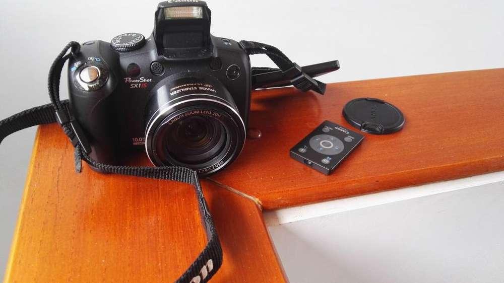 Vendo Linda Cámara Canon Sx1 Y Cámara de