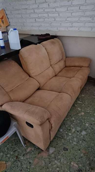 Sofa reclinable 3 puestos