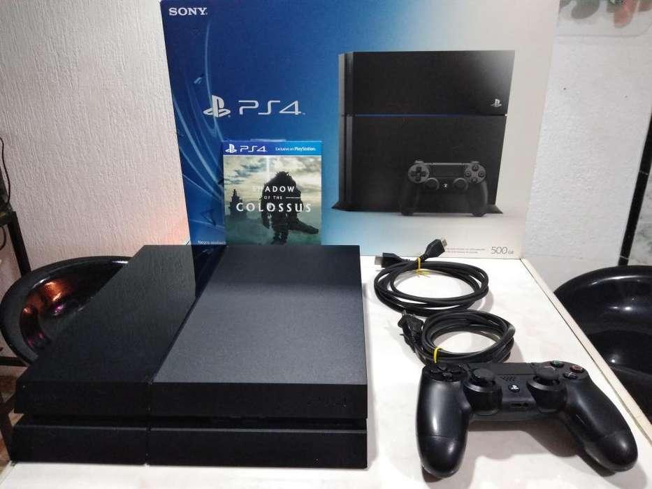 Ps4 Playstation 4 500gb, Control Y Juego