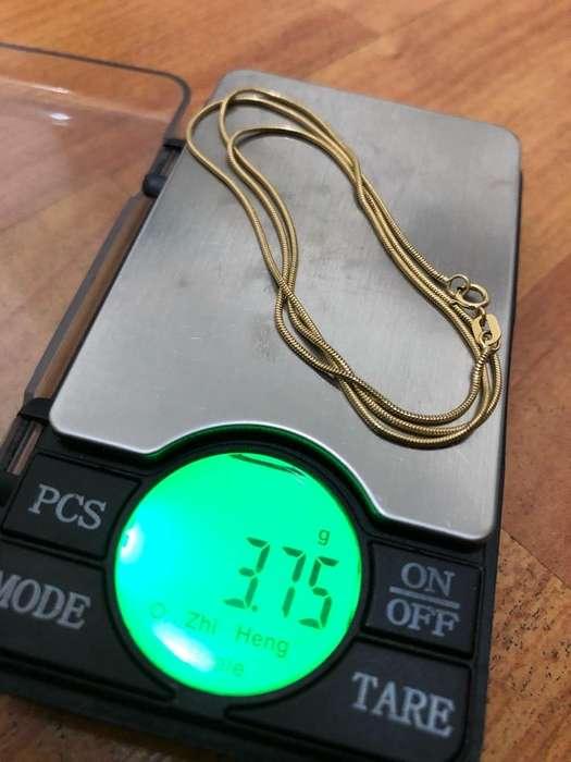 Cadena de Oro Italiano 3,7G Precio Fijo