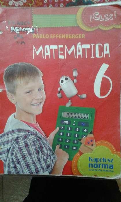 Matematica 6 Pablo Effemberg