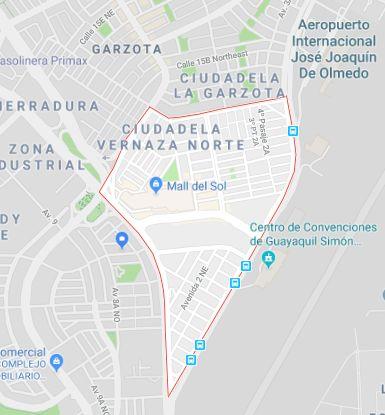 Simon Bolivar, 250m2, Esquinero, Terreno en venta por Garzota