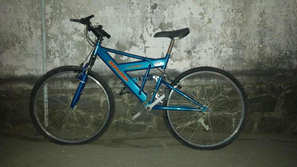 Bicicleta Explorer Liquido Rodado 26