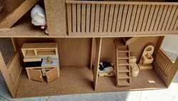 Casa de Muñecas en Mdf