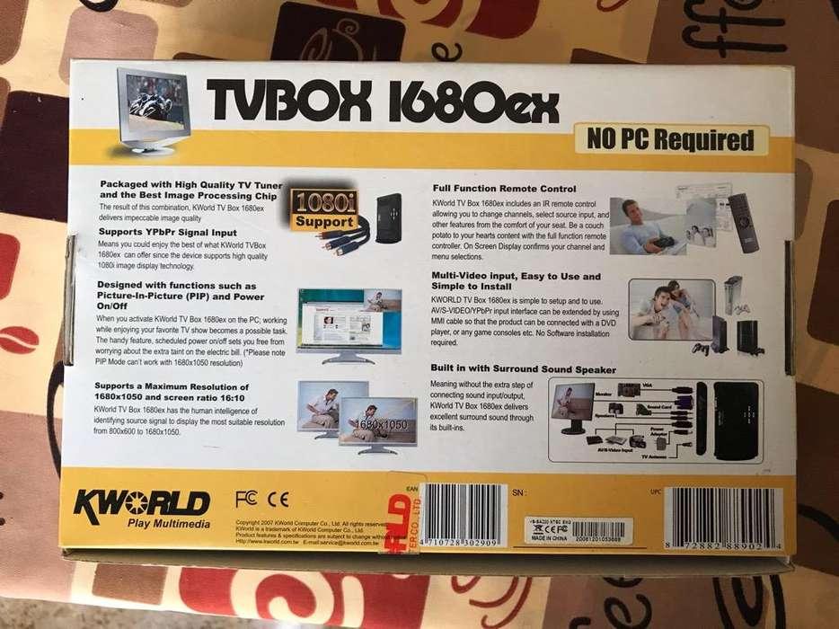 Sintonizadora de Tv Kworld 1680Ex