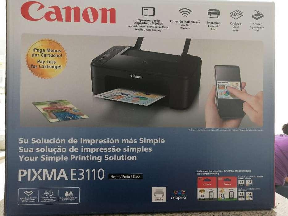 Impresora Canon E3110 Imprime, Copia,es