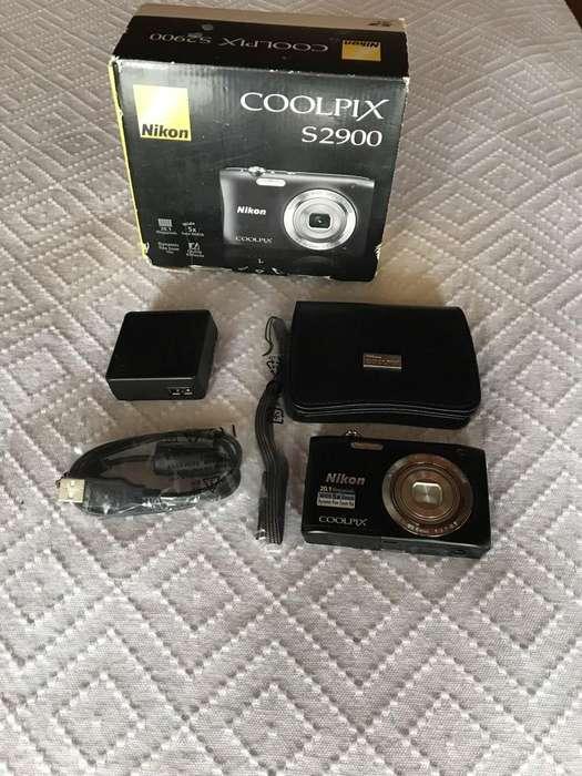Camara <strong>digital</strong> Nikon 20.1Megapixeles