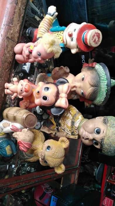 Muñecos de Caucho Antiguos