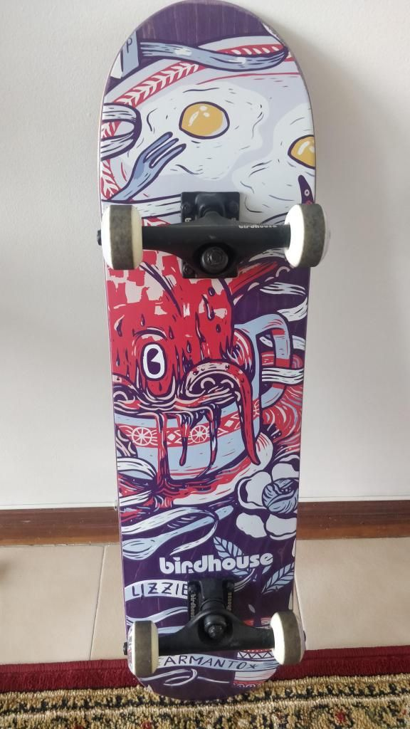 Birdhouse Skateboard Lizzie Armanto Favorites