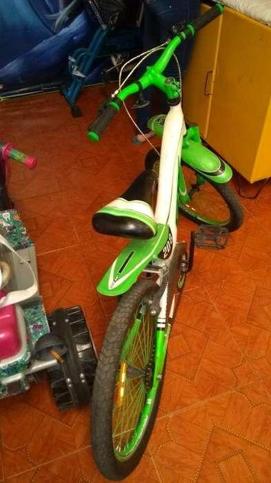 Vendo Bicicleta. Marca Gw en Buen Estado
