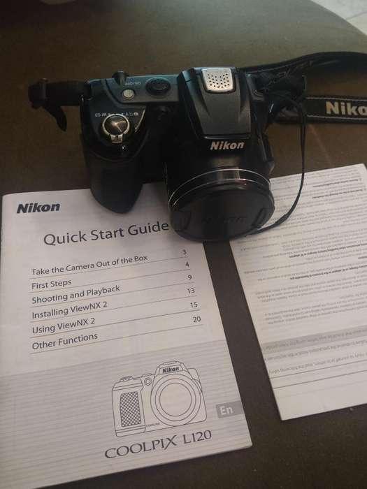 Camara <strong>digital</strong> Nikon Coolpix L120