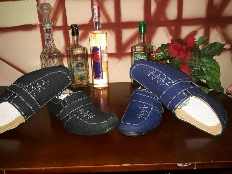 Zapatos de Calor Amarillo.negro.azul. Ca